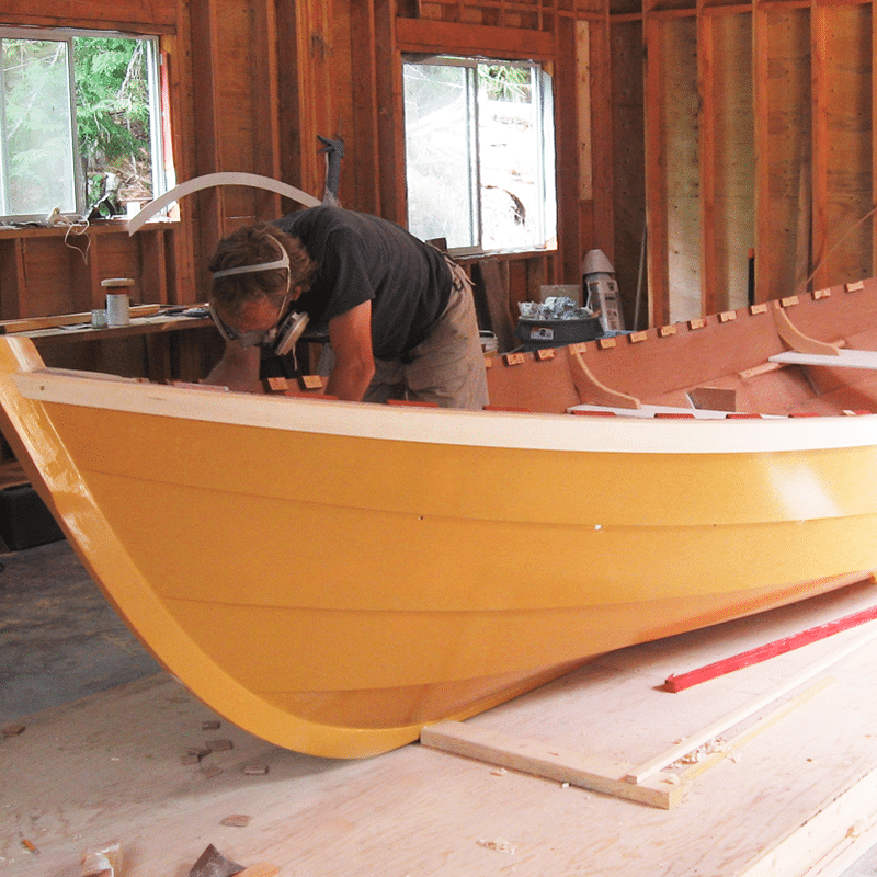 When Your Passion For Being On The Water Reaches Its Pinnacle Then Time A Wooden Boat New Construction Starts With An Idea And Phone Call