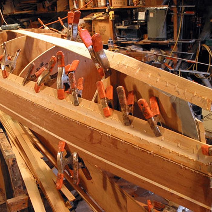 canoe-building